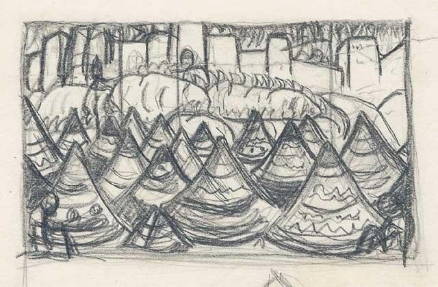 Nicholas Roerich, Ivan the Terrible's Tent, ca. 1909