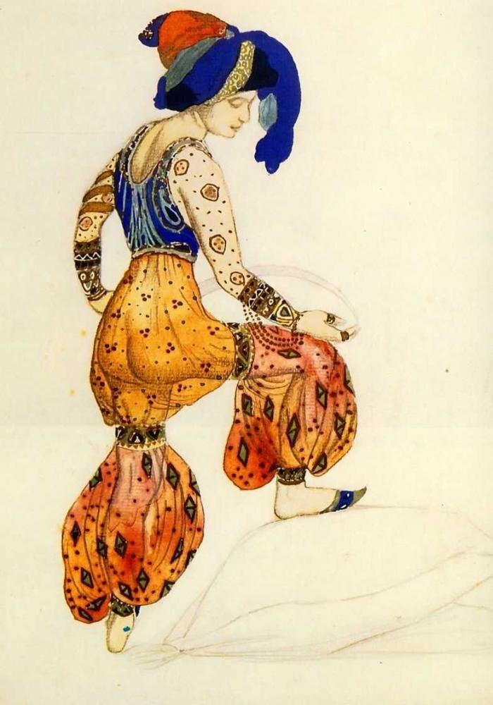 Boris Anisfeld, The Underwater Kingdom, Sadko, 1911