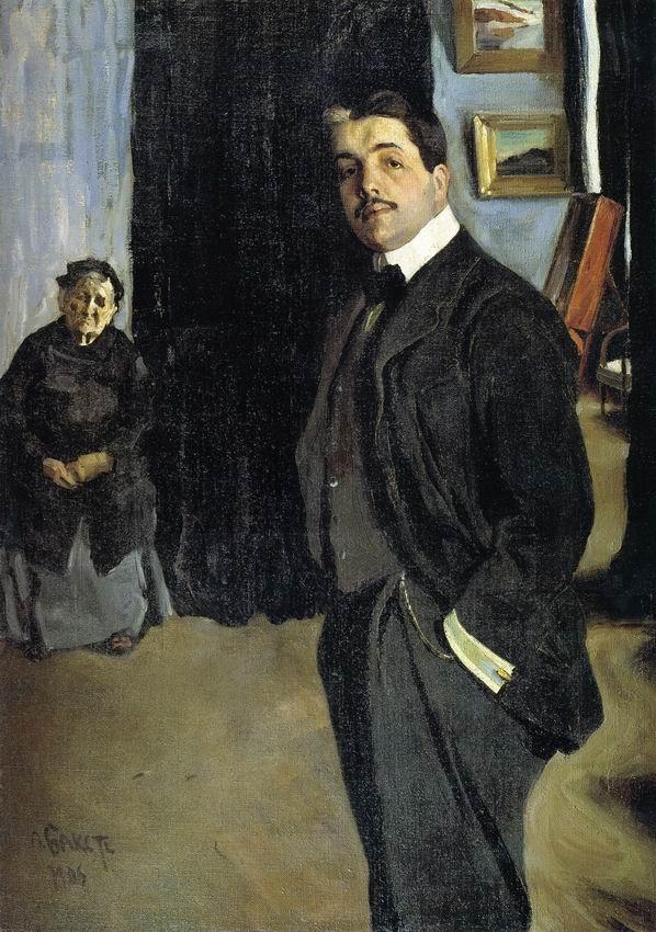 Leon Bakst, Portrait of Sergei Diaghilev, 1905