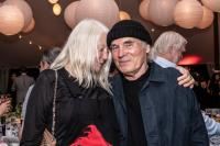 Honorees Helen and Brice Marden at the Bard SummerScape Gala at Montgomery Place, Saturday, July 14, 2018. Photo by Susan Magnano.