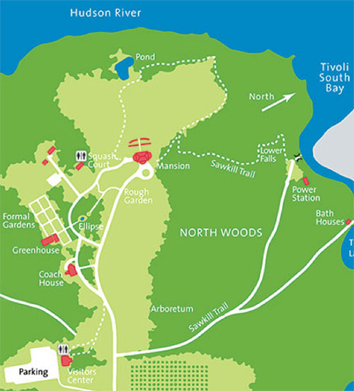 Bard College Map Bard Trail Maps