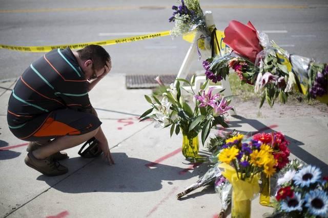 mourn shooting