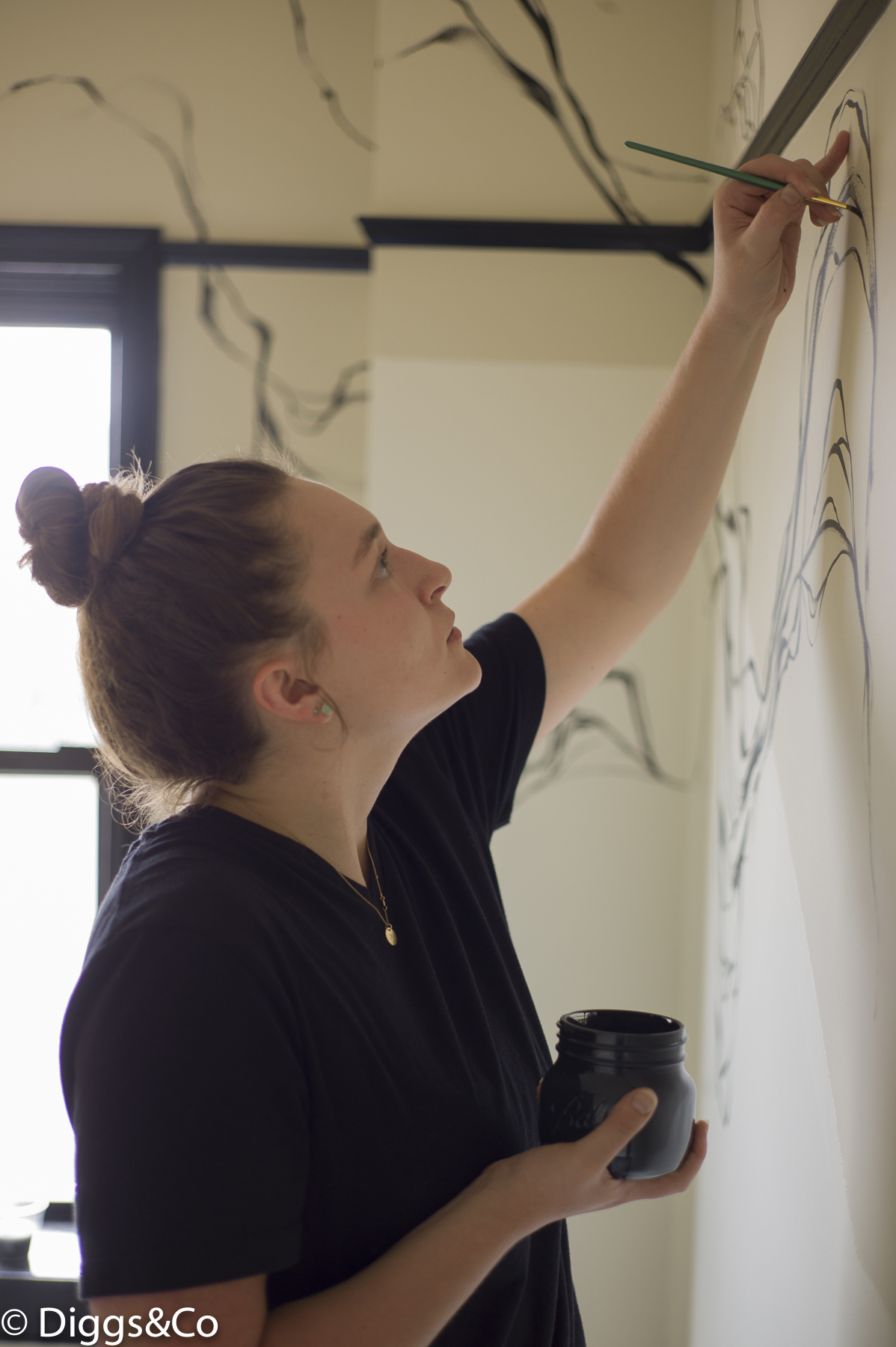 Bard alumna Rowan Willigan '15 at Freehand New York.