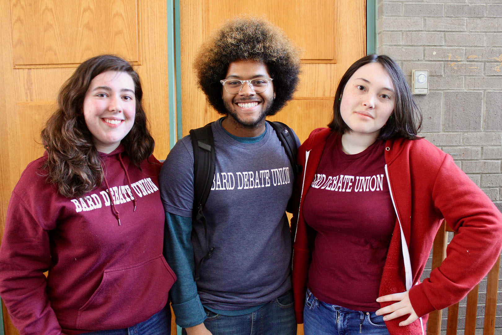Bard College students at the Eighth Annual Middle and High School Debate Tournament