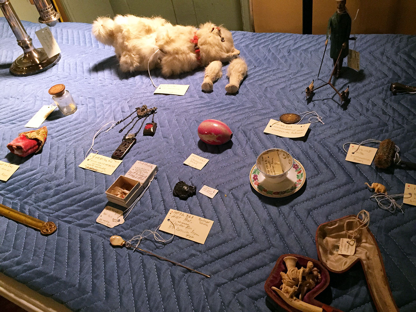 Items from the Montgomery Place collection for use in the Curiosity Cabinet course.