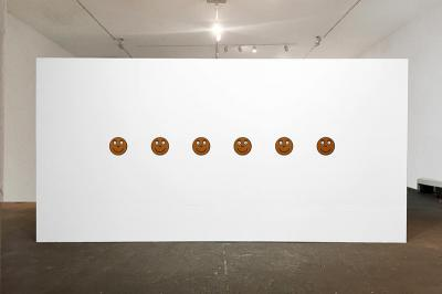 """Carolyn Lazard, """"Pain Scale,"""" 2019, installation view. Photo courtesy the artist"""