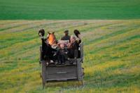Escena de la película Pájaros de Papel, del director español Emilio Aragón, quién estará en Woodstock el 23 de septiembre