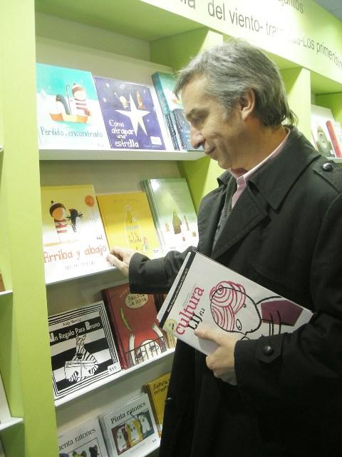 Gonzalo Oyarzún, subdirector del Sistema Nacional de Bibliotecas Públicas (SNBP) de Chile. Foto de Valeria Sorin