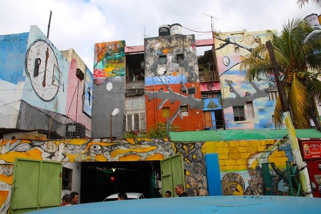 Múltiples murales en La Habana. Cuba. Foto de Franc Palaia