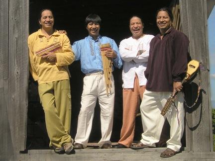 El grupo musical Andes Manta se presentará el 22 de septiembre en Amenia en la Kermés Latina de Somos la  Llave del Futuro.