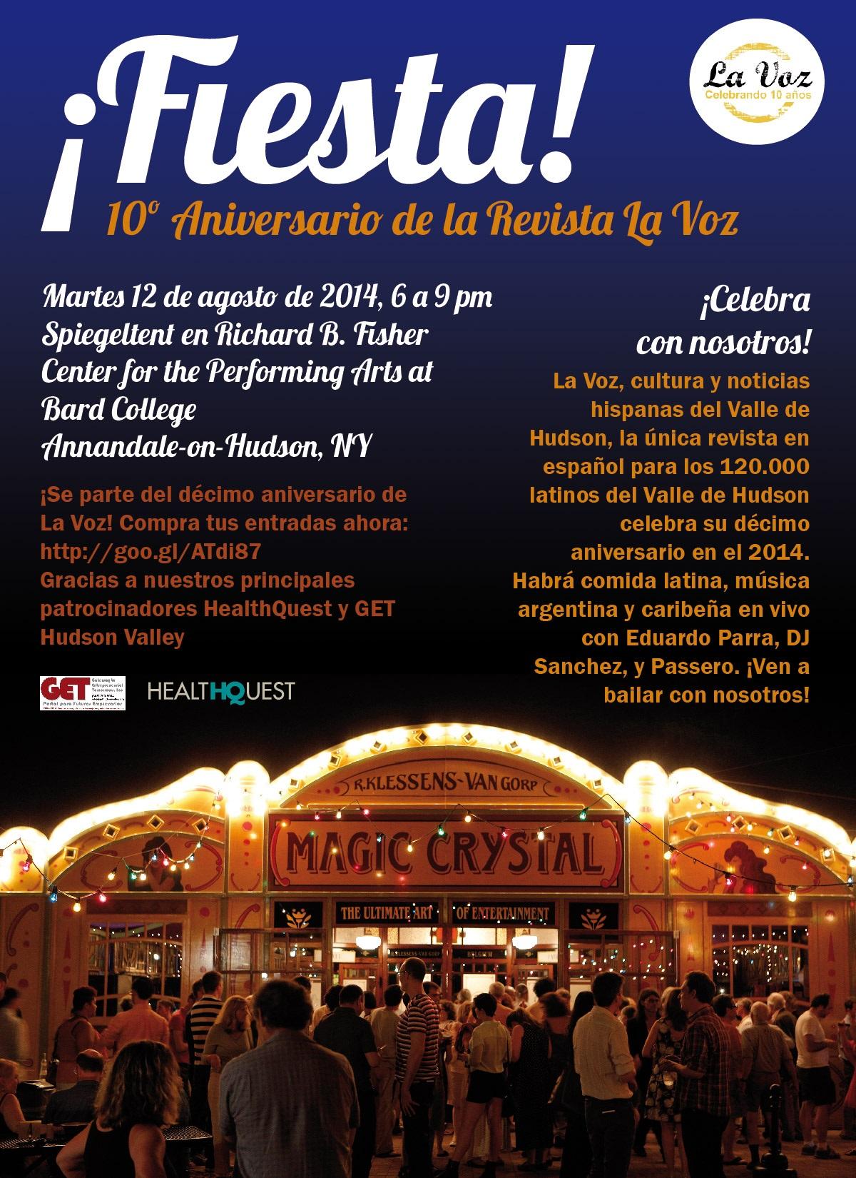 ¡Están todos invitados a la celebración de los 10 años de La Voz!