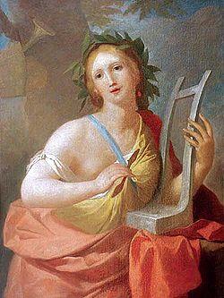 Calíope, musa de la poesía épica y de la elocuencia (M. Bacciarelli)