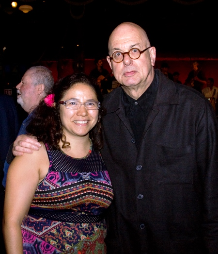 Mariel Fiori, directora de La Voz, y Leon Botstein, presidente de Bard College