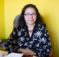 Mariel Fiori, directora de la revista La Voz. Foto de Richard Renaldi