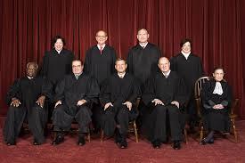 Jueces integrantes de la Corte Suprema de los Estados Unidos