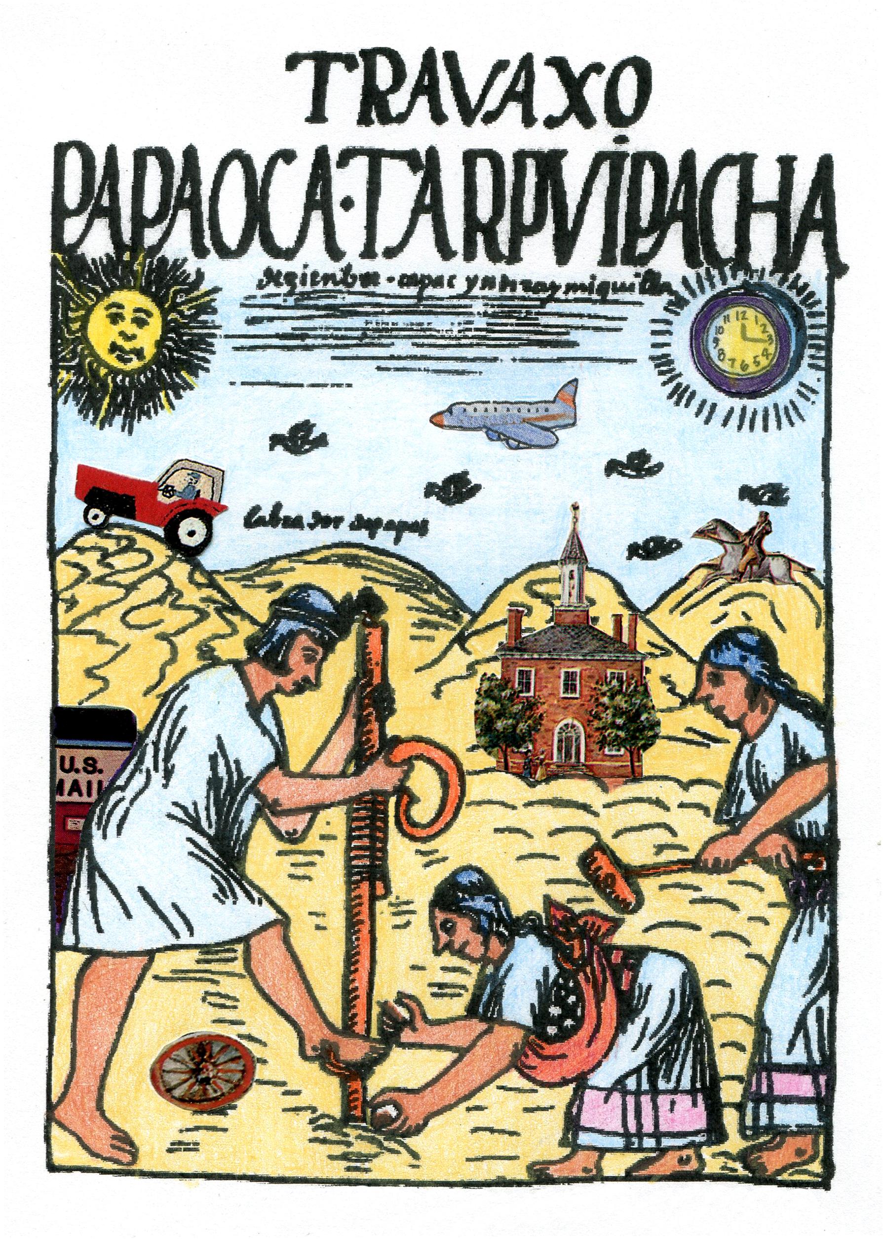<strong>Felipe Guam&aacute;n Poma de Ayala</strong> (1534-1615) document&oacute; en su dibujo c&oacute;mo las mujeres quechuas sembraban las papas. Ellas tambi&eacute;n eran las encargadas de conservar las semillas.<br />Pero en esta ilustraci&oacute;n hay 7 elementos extra&ntilde;os. &iquest;Cu&aacute;les son?<br />&nbsp;