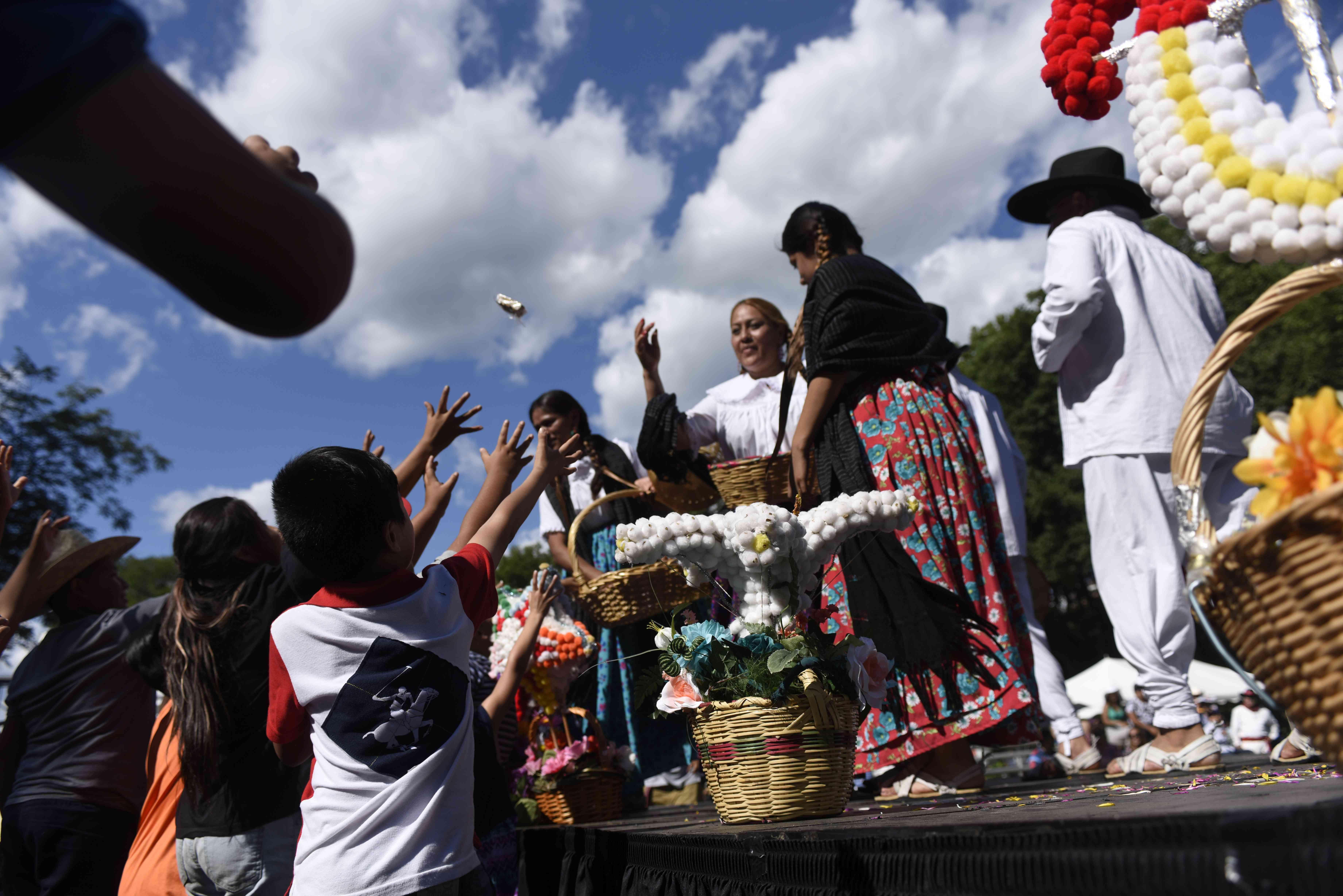 El festival de La Guelaguetza, fotos deMichael Sibilia.