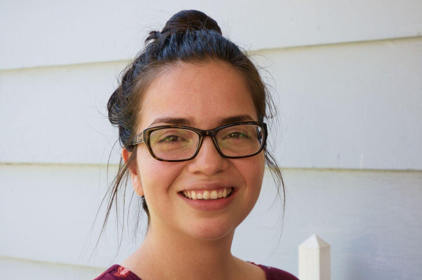 Mayra Hidalgo Salazar, foto de Antonio Flores-Lobos