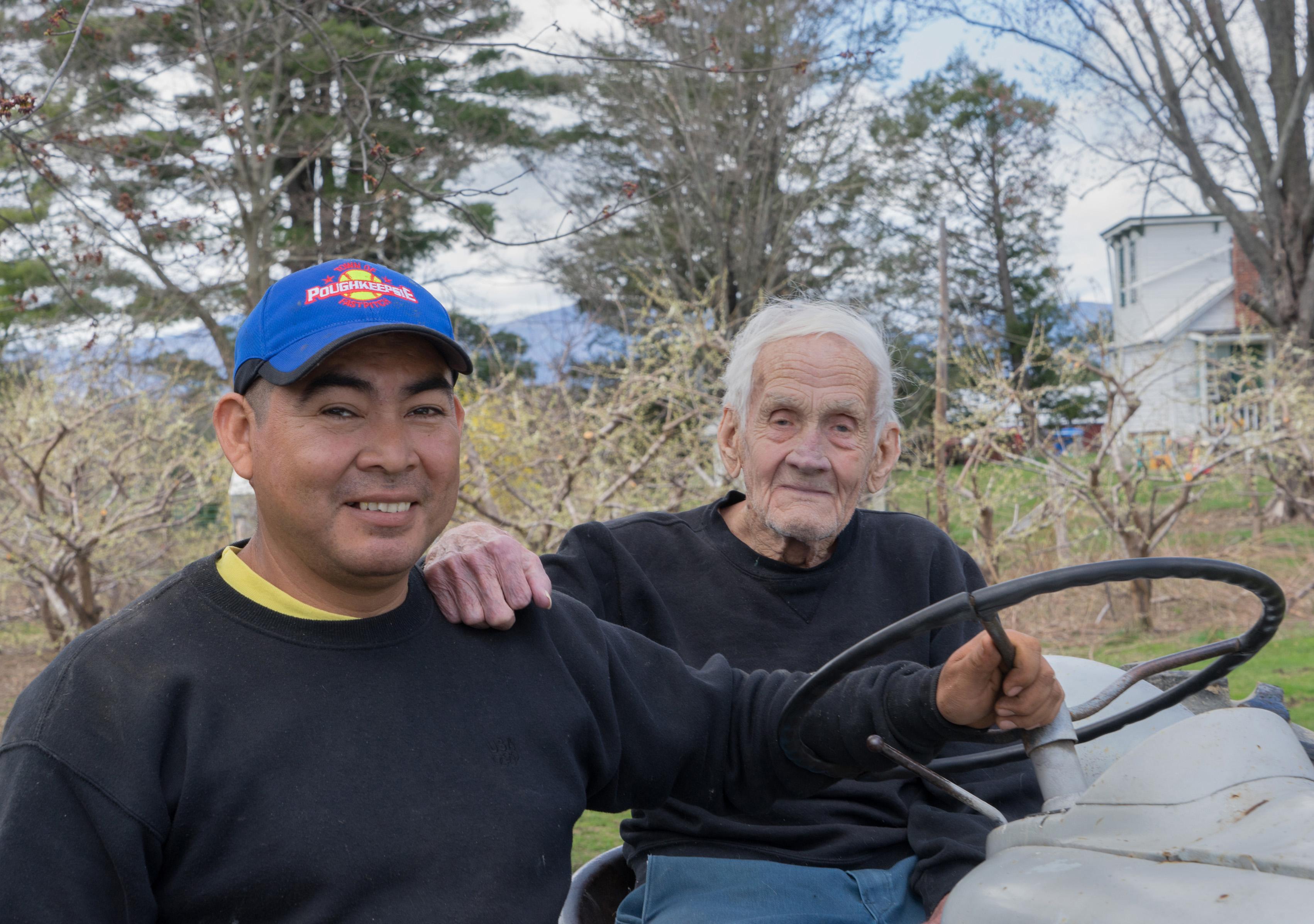 Víctor Ramírez y Caude Potts, foto de Joseph Squillante