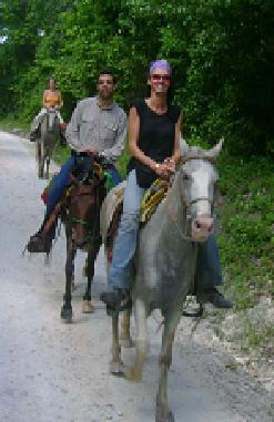 Camino a Nakum, Guatemala