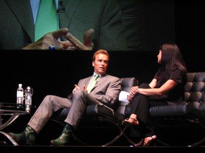 el gobernador de California, Arnold Schwarzenegger.