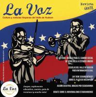 Arte de tapa de La Voz de diciembre por el artista del papel picado Rick Jones
