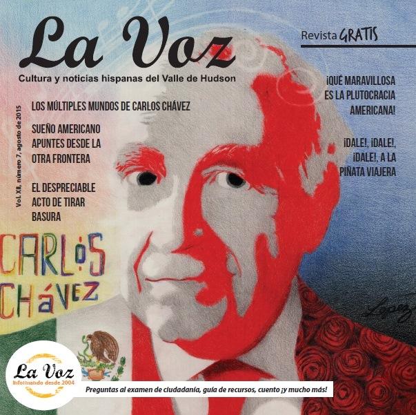 Tapa de La Voz de agosto 2015, ilustración de David López