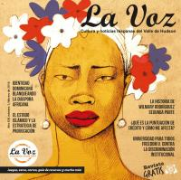 Imagen de la portada de La Voz de febrero 2016, por la ilustradora Pilar Roca