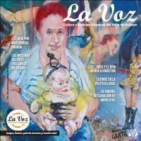Mujeres de circo, imagen de la portada de La Voz de marzo 2016, por la artista Sheila Fraga