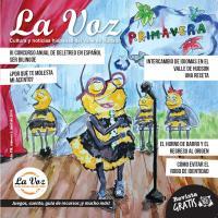 Imagen de la portada de La Voz de abril 2016, por la ilustradora Maria Scrudato.