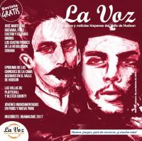 Imagen de la portada de La Voz de noviembre, por la artista y estudiante Michelle Gutiérrez
