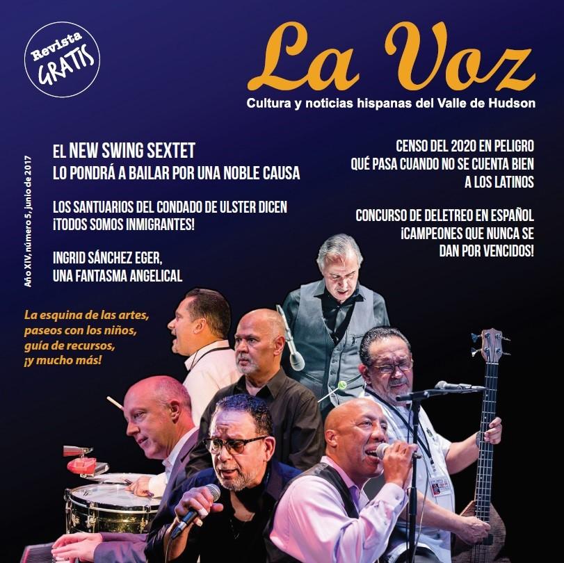 Imagen de la portadade La Voz de junio 2017