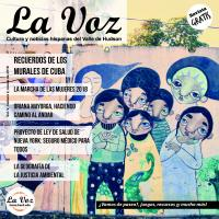 Imagen de la portada de La Voz marzo 2018, fotografía de Franc Palaia