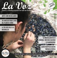 Imagen de la portada de La Voz de abril, foto de Rachel Shamsie