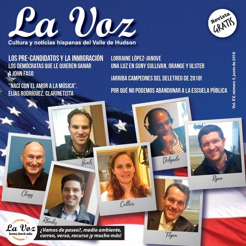 Imagen de la portada de La Voz Junio 2018<br /> &nbsp;