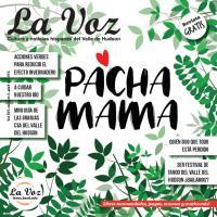 Ilustración de la portada de la revista La Voz de abril, realizada por la artista Pilar Roca.