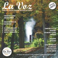 Imagen de la portadade la revista La Voz de junio, foto crédito Innis Garden