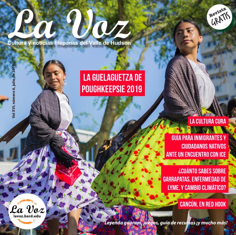 Imagen de portada de la versión impresa de la revista La Voz del mes de julio 2019