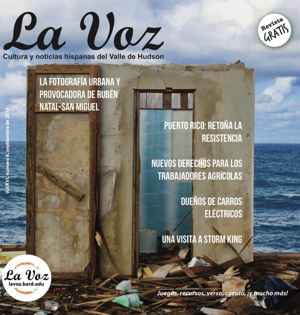 Imagen de portadade la versión impresa de la revistaLa Voz del mes de agosto 2019