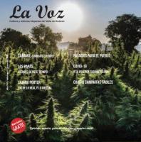 Imagen de portada de la La Voz de junio 2020, fotografia deHempireStateGrowers