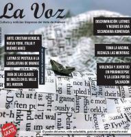 Imagen de la portada de La Voz de febrero 2021, arte por Cristian Verdejo