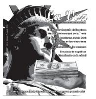 La Voz agosto 2008