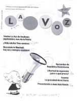 La Voz septiembre 2006